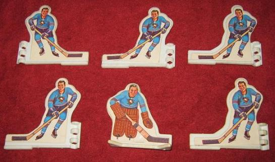 coleco table hockey game team front