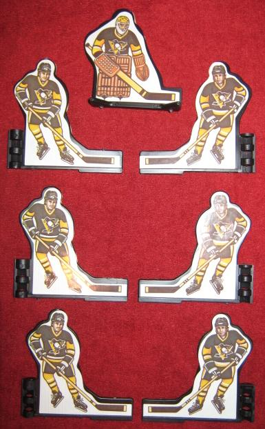 Coleco Table Hockey Game PITTSBURGH PENGUINS Team 1980s