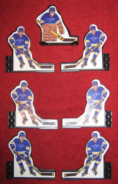 coleco table hockey team SAINT LOUIS BLUES