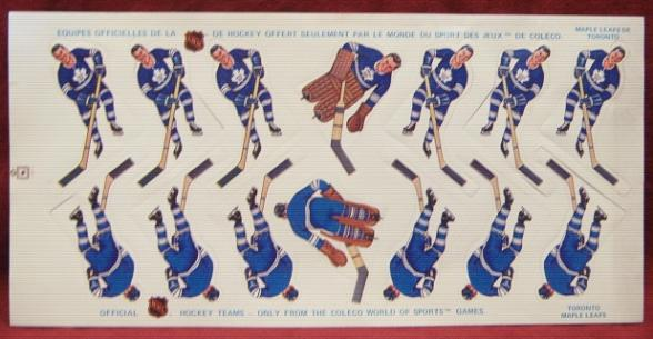 coleco table hockey team TORONTO MAPLE LEAFS