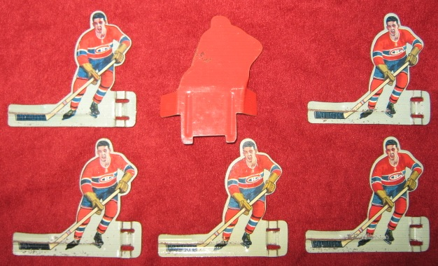 eagle table hockey game tinMONTREAL CANADIENS team back