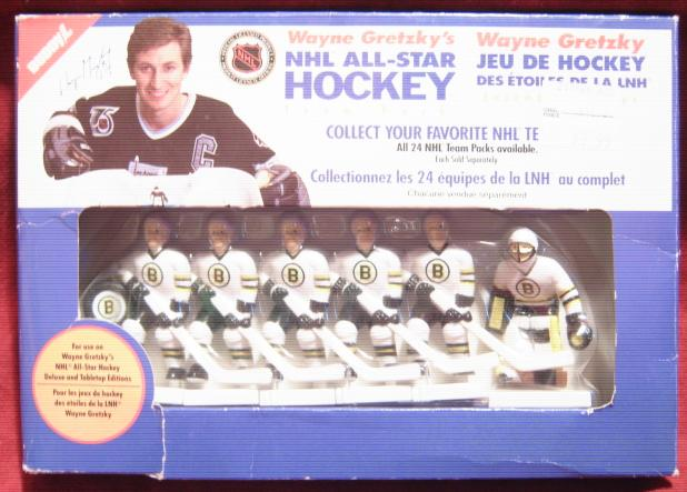 GRETZKY TABLE HOCKEY GAME Boston Bruins Team