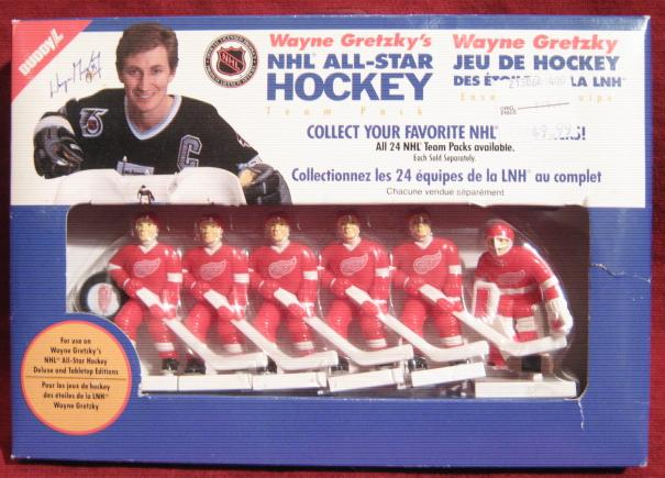 Buddy L WAYNE GRETZKY TABLE HOCKEY Detroit Red Wings Team