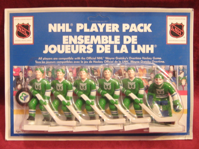 GRETZKY TABLE HOCKEY GAME Hartford Whalers Team