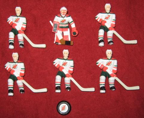 wayne gretzky table hockey team NEW JERSEY DEVILS