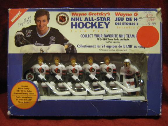 GRETZKY TABLE HOCKEY GAME Ottowa Senators Team