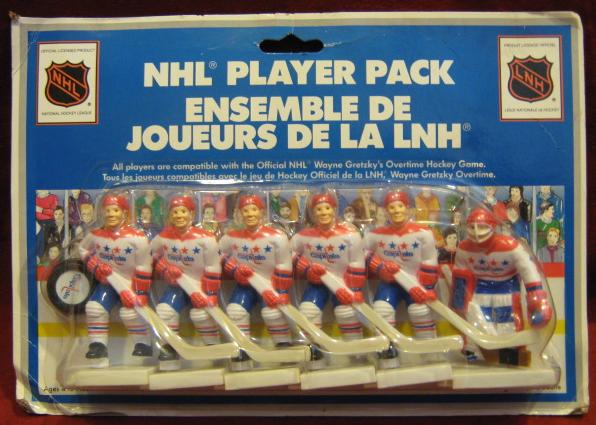 GRETZKY TABLE HOCKEY GAME Washington Capitols Team