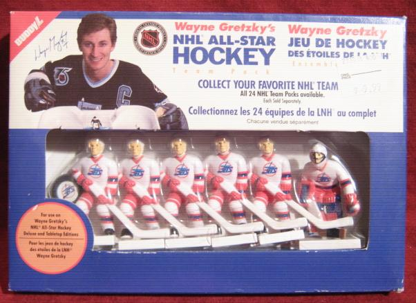 Buddy L WAYNE GRETZKY TABLE HOCKEY Winnipeg Jets Team ***Sealed