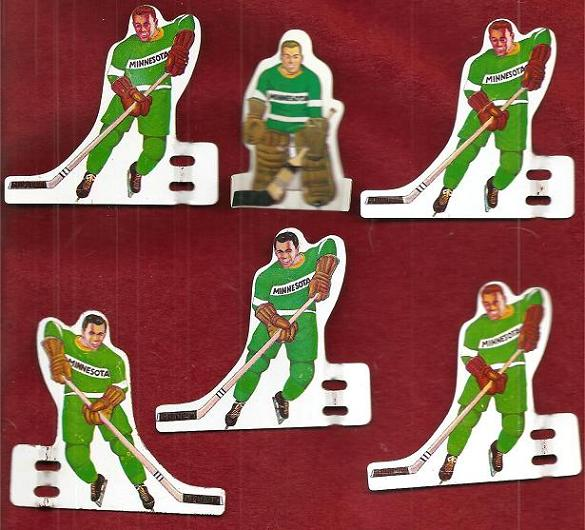 Munro Table Hockey Game MINNESOTA NORTH STARS Team tin 1960s