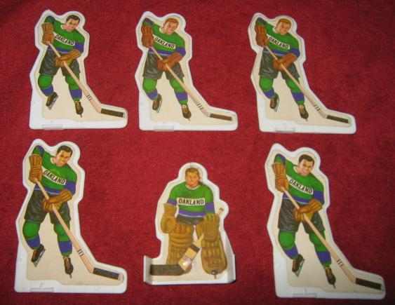Munro Table Hockey Game OAKLAND SEALS Team Plastic 1970s