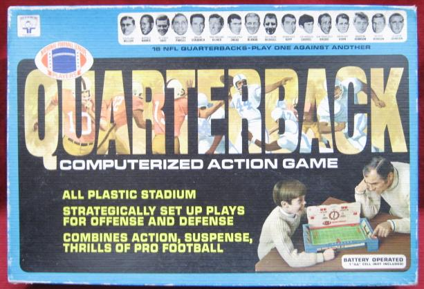 transogram nfl quarterback football game box