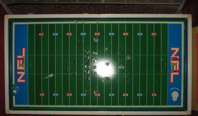 tudor electric football game field