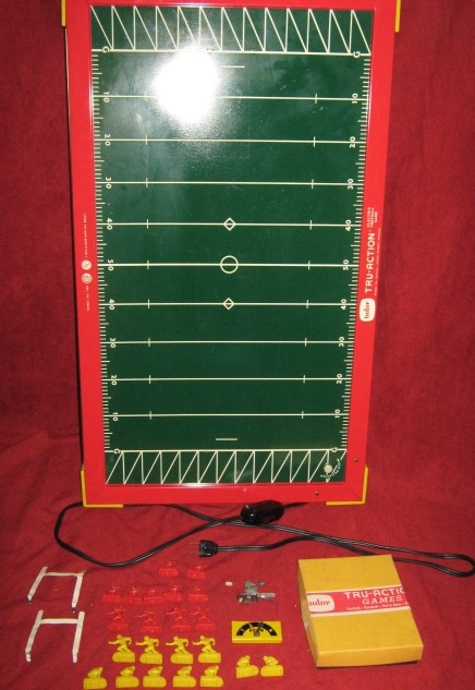 tudor electric football game field XXXX