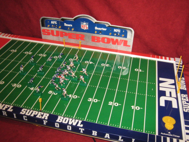 tudor electric football teams