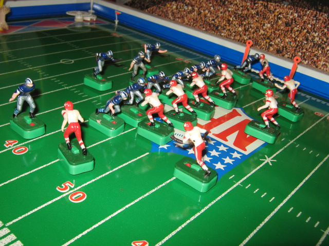 tudor electric football game teams