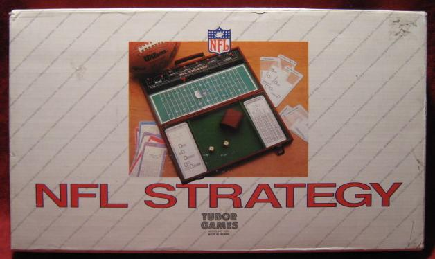 tudor nfl strategy deluxe edition box