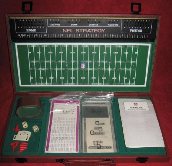 tudor nfl strategy football game parts 1988