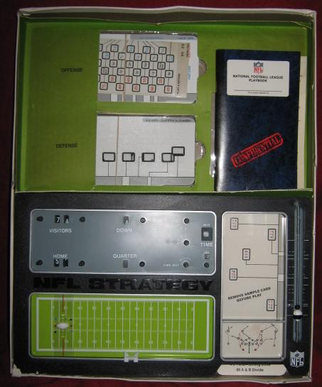 tudor nfl strategy football game parts 1974