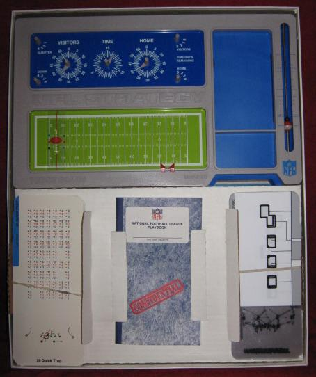 tudor nfl strategy football game parts 1976