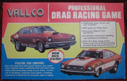Vallco PROFESSIONAL DRAG RACE Game