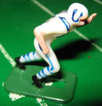TUDOR ELECTRIC FOOTBALL GAME Baltimore Colts White HK71CL