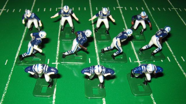 Tudor Electric Football Team BALTIMORE COLTS Dark Jersey HK71CL