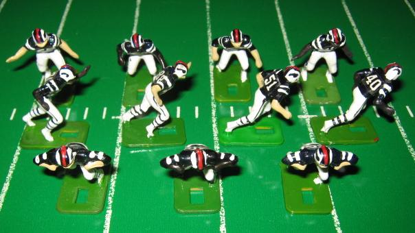 Tudor Electric Football Team BUFFALO BILLS Dark Jersey HA76amb