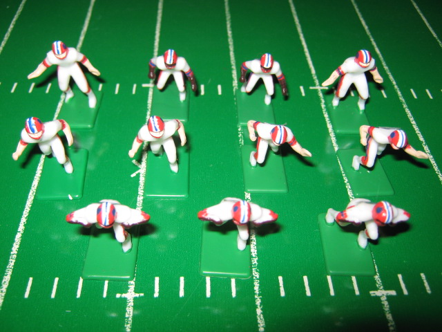 Tudor Electric Football Team BUFFALO BILLS White Jersey CH90
