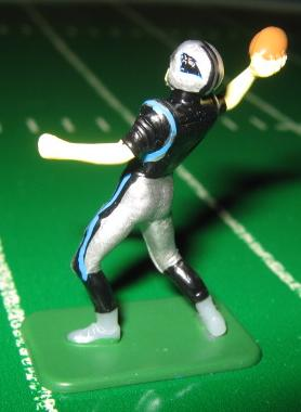 TUDOR ELECTRIC FOOTBALL GAME Carolina Panthers QB Dark CH02