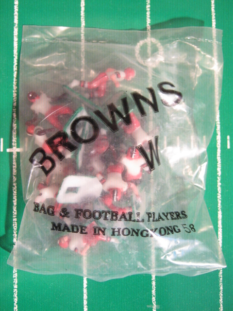 Tudor Electric Football Team CLEVELAND BROWNS White Jersey HK78