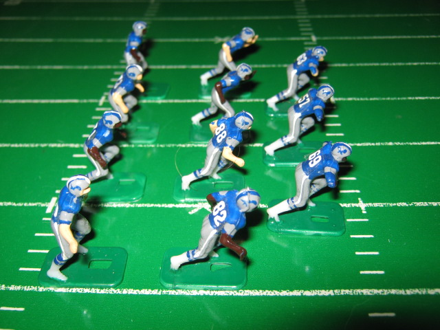 tudor electric football team DETROIT LIONS DARK JERSEY HK81