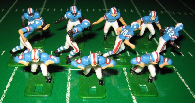 Tudor Electric Football Team HOUSTON OILERS Dark Jersey HA73