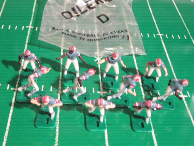 Tudor Electric Football Team HOUSTON OILERS Dark Jersey HK78