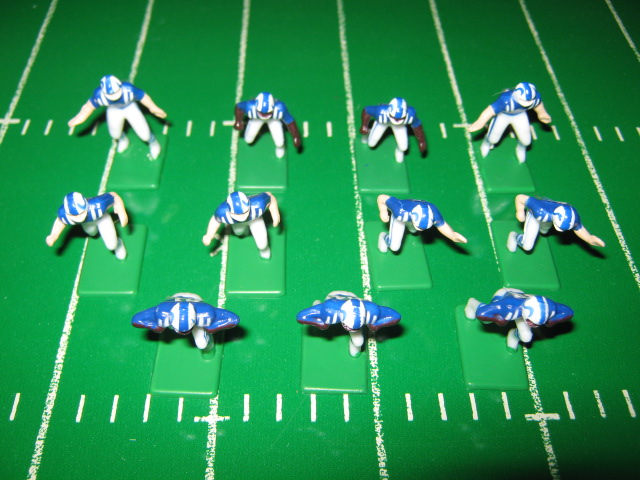 Tudor Electric Football Team INDIANAPOLIS COLTS Dark Jersey CH90