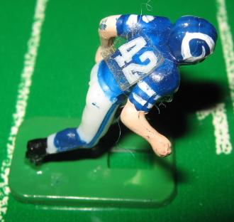 TUDOR ELECTRIC FOOTBALL GAME Los Angeles Rams Team Dark HK69HL