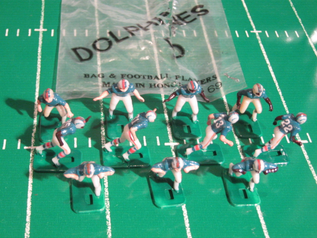 tudor electric football team MIAMI DOLPHINS DARK JERSEY HK78
