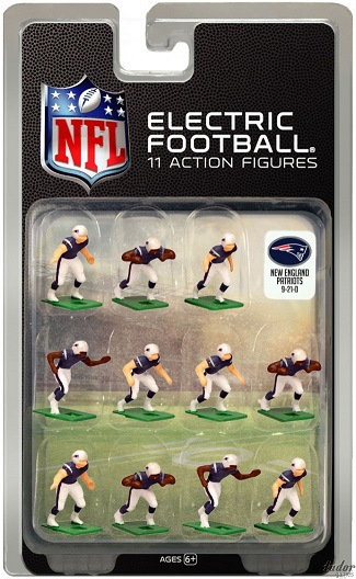 TUDOR ELECTRIC FOOTBALL GAME New Englad Patriots Dark CURRENT