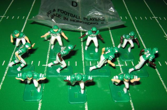 tudor electric football team NEW YORK JETS DARK JERSEY HK81