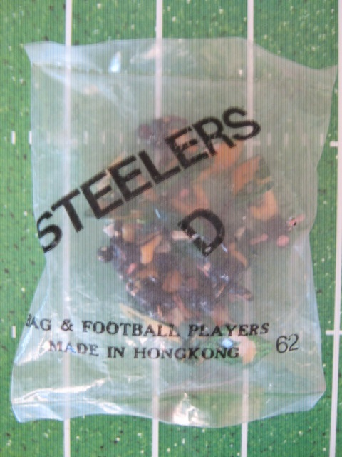 TUDOR ELECTRIC FOOTBALL GAME Pittsburgh Steelers Team Dark HK78