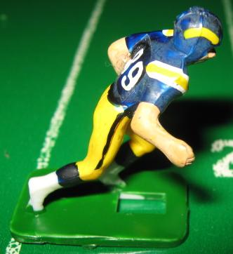 TUDOR ELECTRIC FOOTBALL GAME San Diego Chargers Team Dark HA76