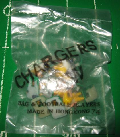 tudor electric football team SAN DIEGO CHARGERS WHITE JERSEY HK78