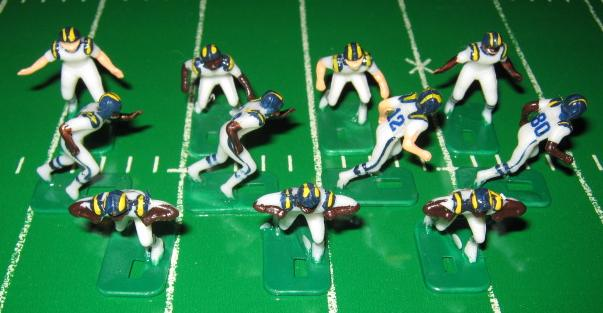 Tudor Electric Football Team SAN DIEGO CHARGERS WHITE JERSEY HK81