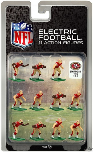 TUDOR ELECTRIC FOOTBALL GAME San Francisco 49ers Dark CURRENT
