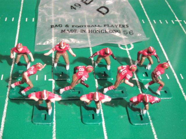 TUDOR ELECTRIC FOOTBALL GAME San Francisco 49ers Team Dark HK78