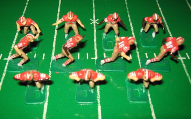 TUDOR ELECTRIC FOOTBALL GAME San Francisco 49ers Team Dark HK81