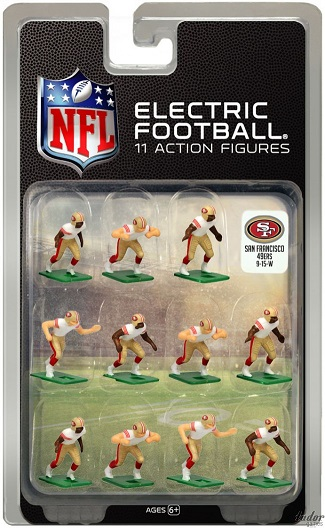 TUDOR ELECTRIC FOOTBALL GAME San Francisco 49ers White CURRENT
