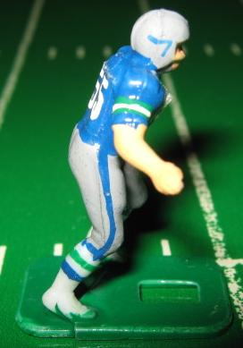 TUDOR ELECTRIC FOOTBALL GAME Seattle Seahawks Team Dark HK81