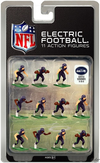 TUDOR ELECTRIC FOOTBALL GAME Seattle Seahawks Dark CURRENT