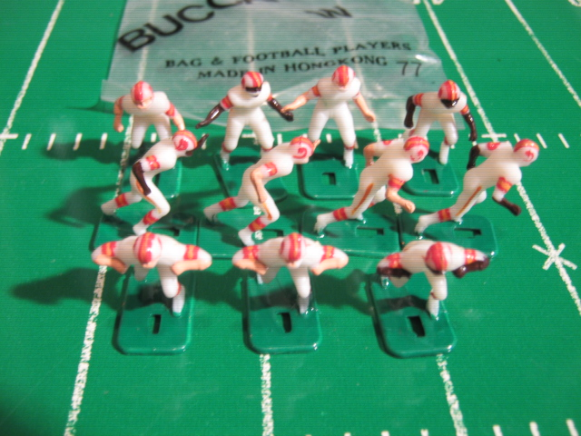 Tudor Electric Football Team TAMPA BAY BUCCANEERS White Jersey HK78