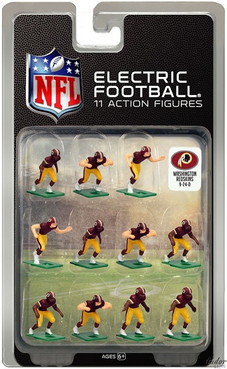 TUDOR ELECTRIC FOOTBALL GAME Washington Redskins Dark CURRENT
